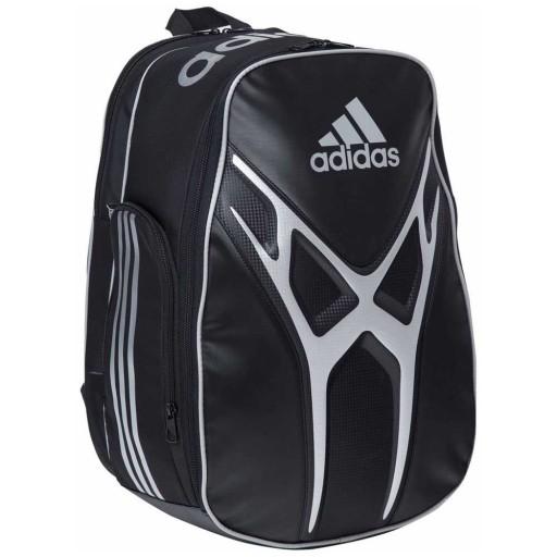 Mochila Adidas Adipower 1.9 Preta e Prata  - PROTENISTA