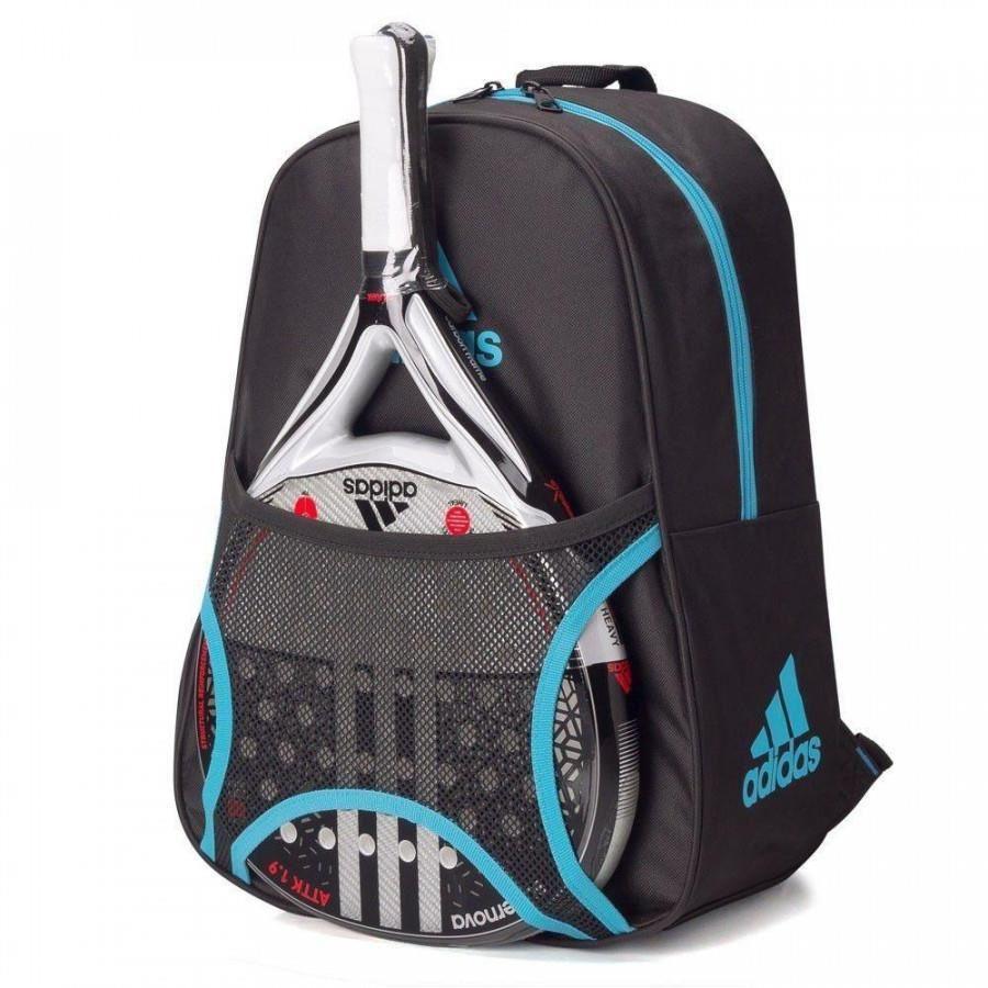 Mochila Adidas Backpack Club Escola Preta e Azul