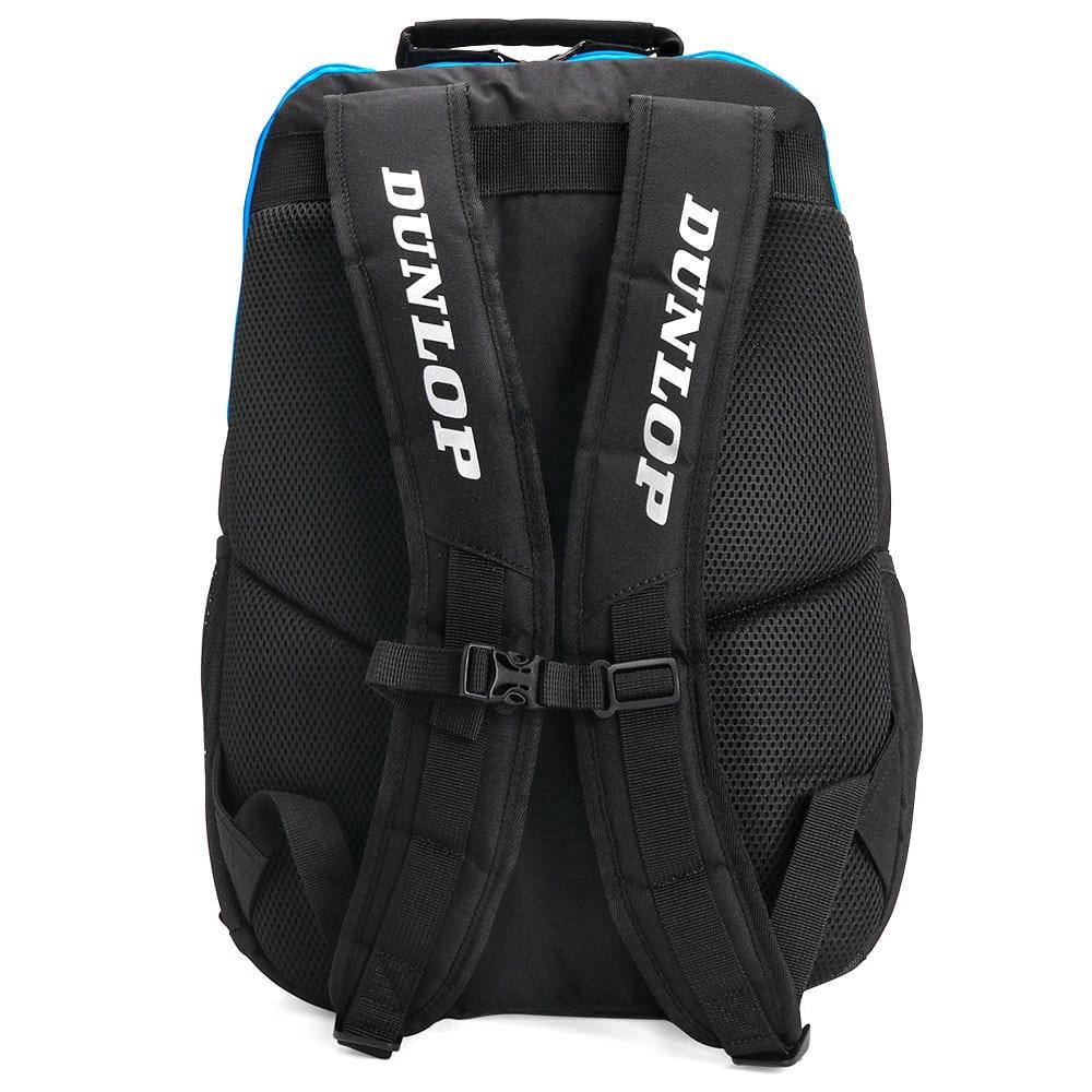 Mochila Dunlop FX Performance Preta e Azul  - PROTENISTA