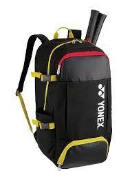Mochila Yonex Active BackPack 82012 Lex Preta e Amarela  - PROTENISTA