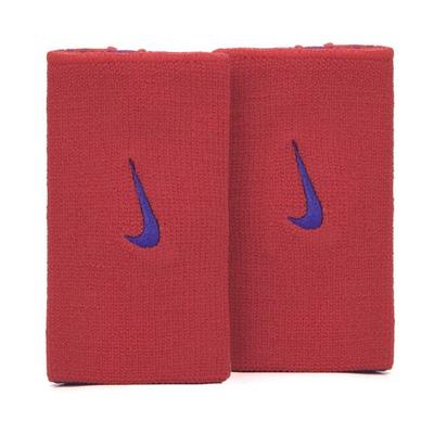 Munhequeira Nike Dri-fit Home Away Vermelho e Marinho  - PROTENISTA