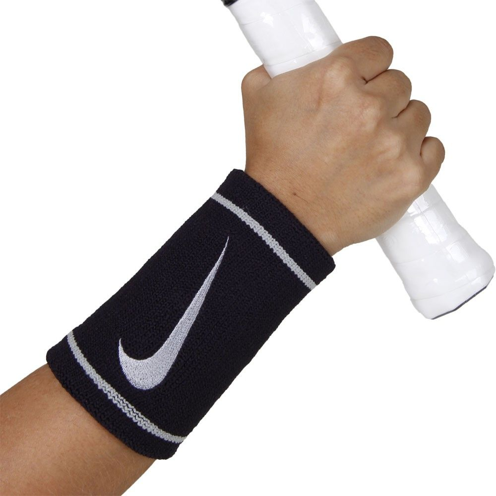 Munhequeira Nike Dri-Fit Longa - 02 Unidades  - PROTENISTA