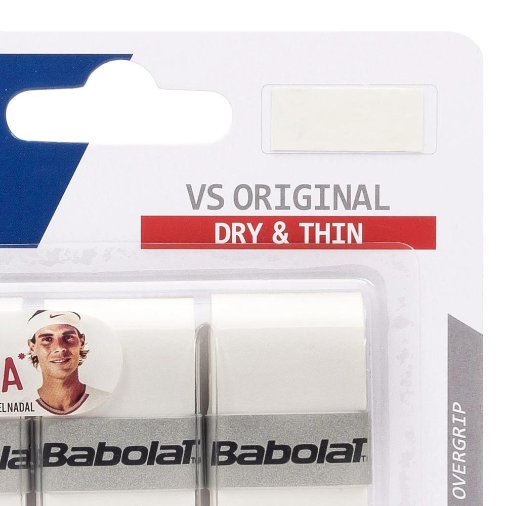 Overgrip Babolat VS Original X3 - Cores  - PROTENISTA