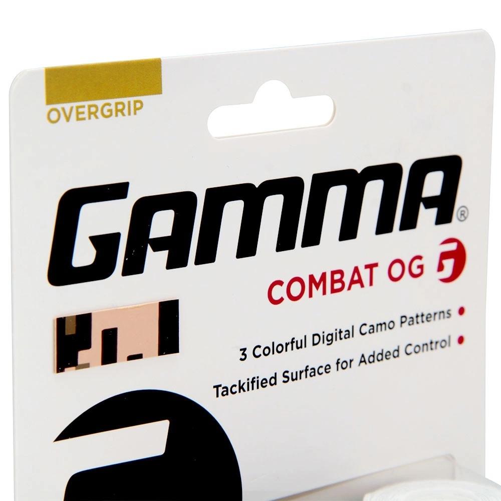 Overgrip Gamma Combat com 03 Unidades  - PROTENISTA
