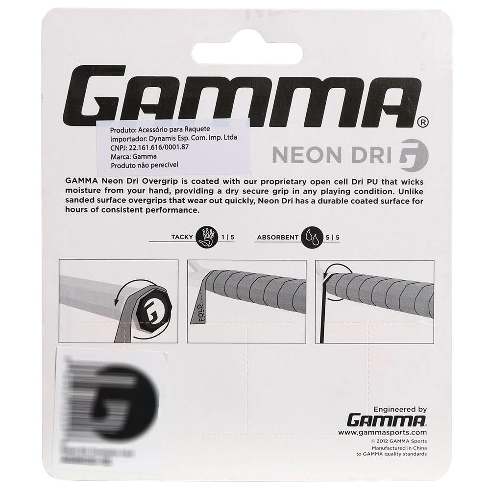Overgrip Gamma Neon Dri com 03 Unidades  - PROTENISTA