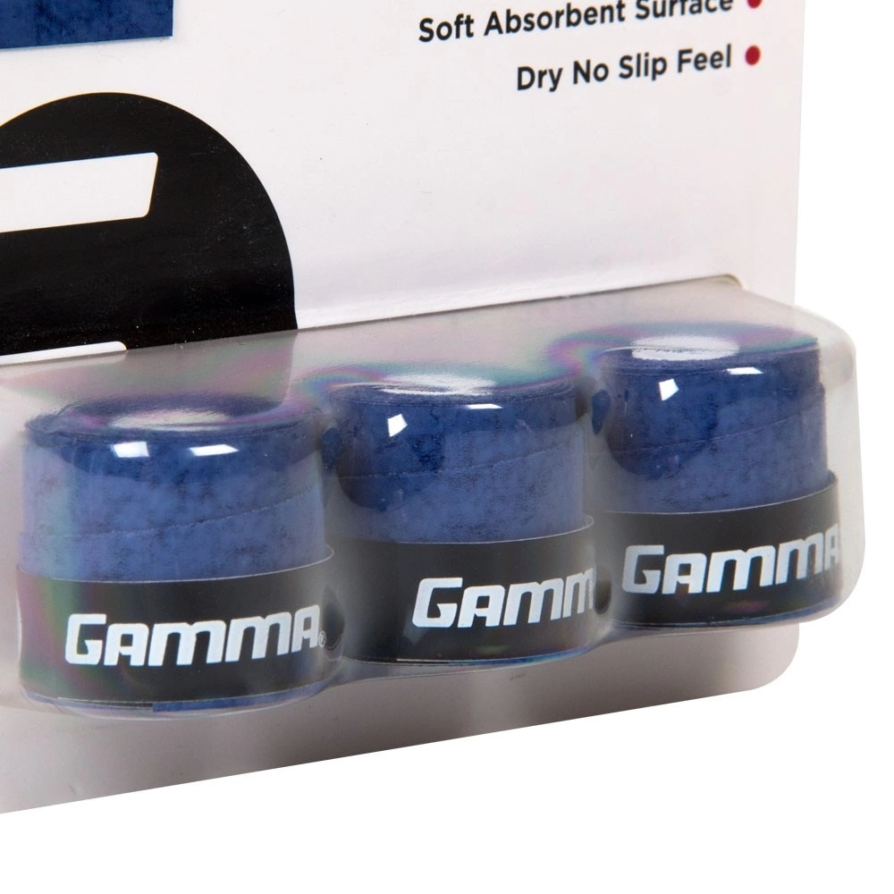 Overgrip Gamma Pro Wrap com 03 Unidades Azul  - PROTENISTA
