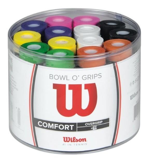 Overgrip Wilson Ultra Wrap Comfort Color - Pote c/ 50 unidades