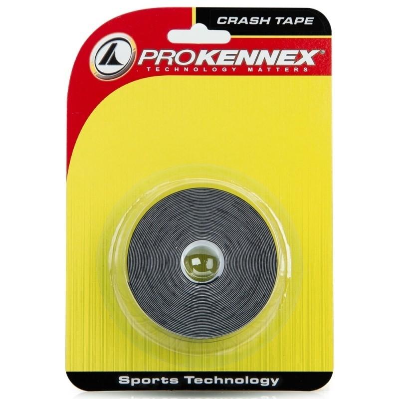 Protetor de Cabeça de Raquete Prokennex Crash Tape Preto  - PROTENISTA