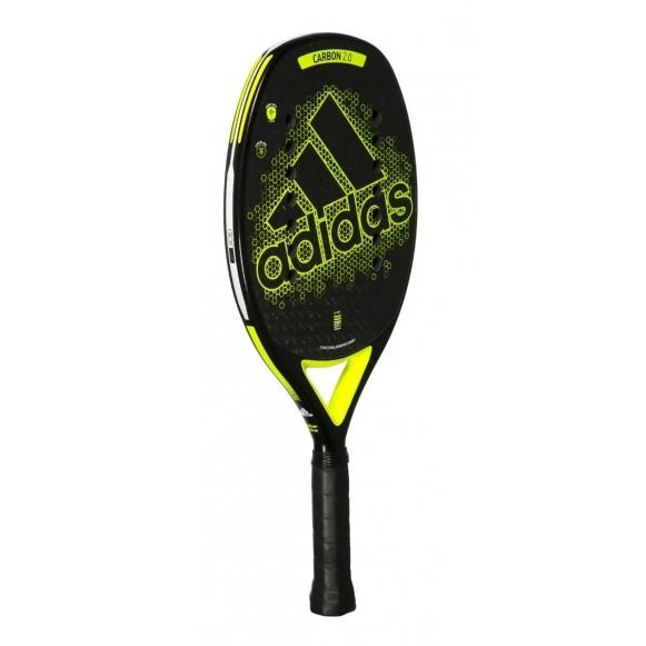 Raquete Adidas Carbon Ctrl 2.0 Preta e Amarelo  - PROTENISTA
