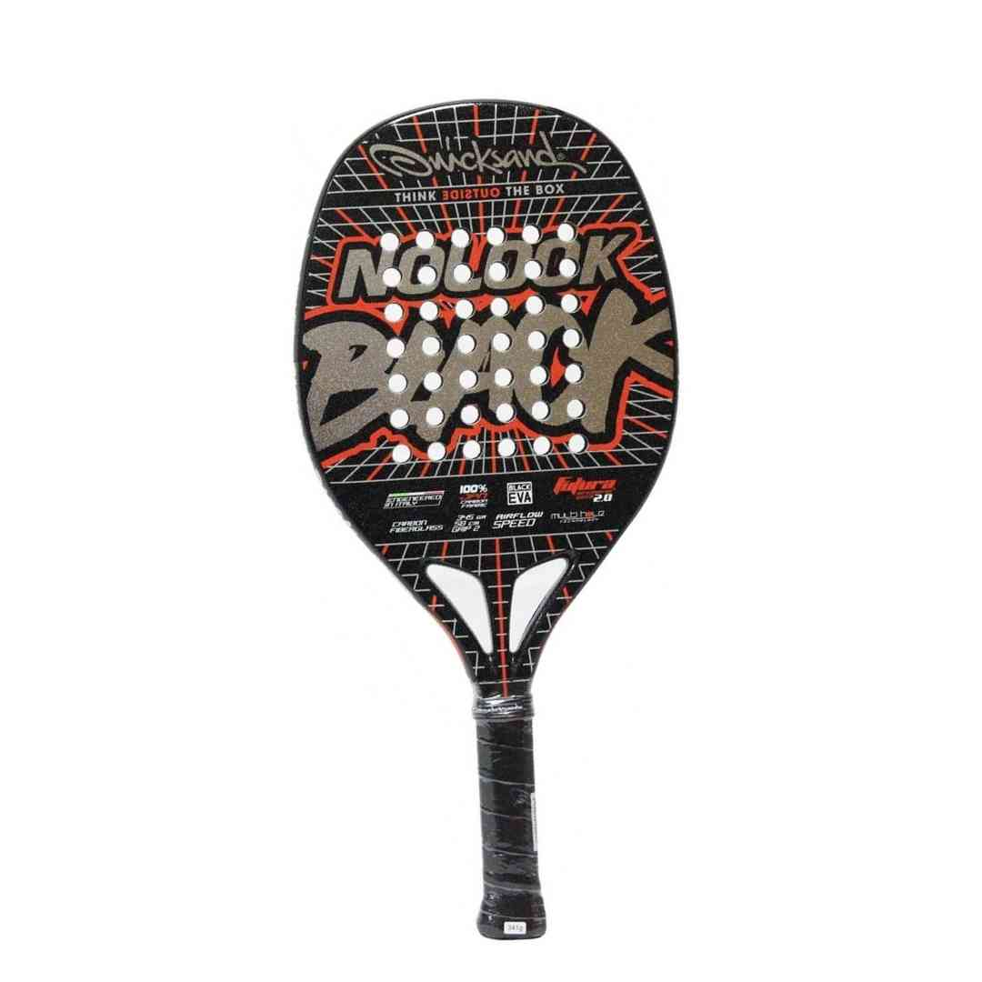 Raquete Beach Tennis Quicksand Nolook Black 2021  - PROTENISTA