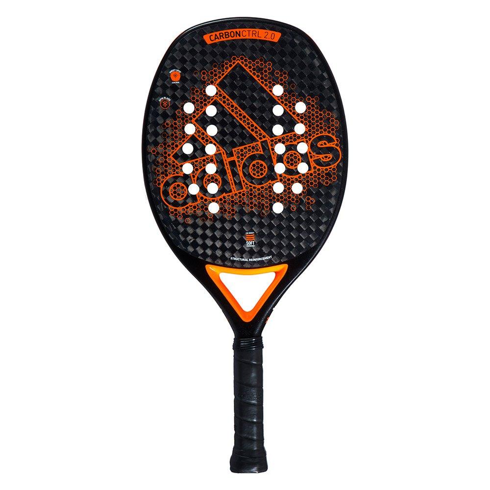 Raquete de Beach Tennis Adidas Carbon Ctrl 2.0 - Laranja  - PROTENISTA