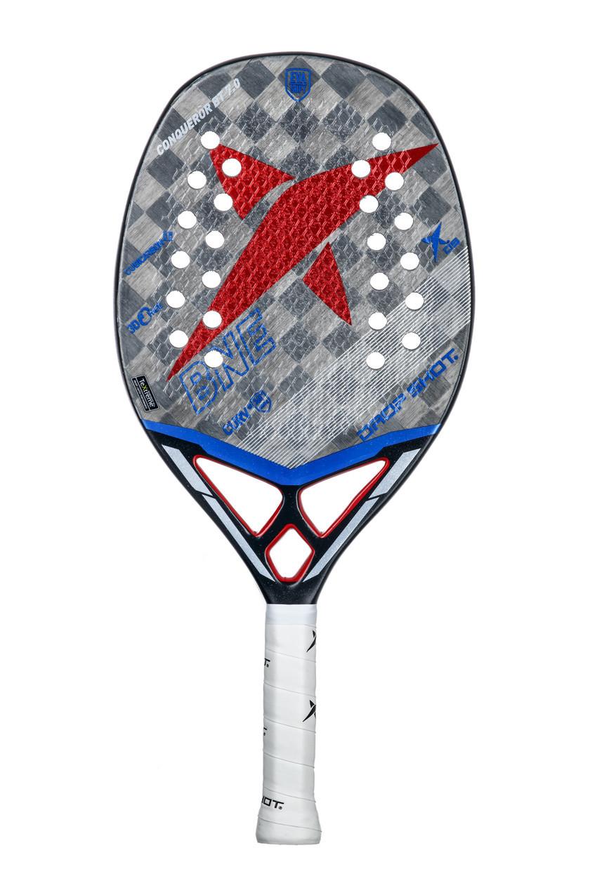 Raquete de Beach Tennis Drop Shot Conqueror 7.0  - PROTENISTA