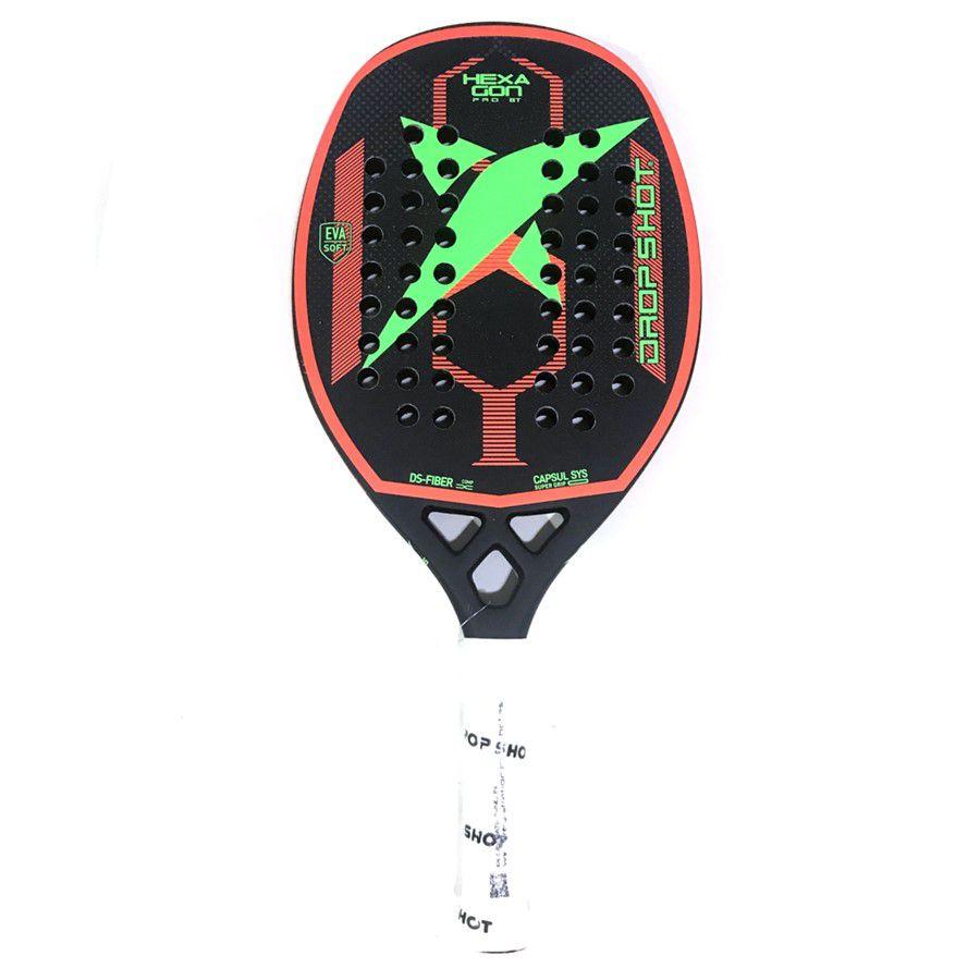 Raquete de Beach Tennis Drop Shot Hexagon