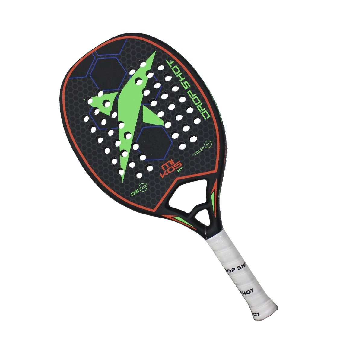 Raquete de Beach Tennis Drop Shot Mikos