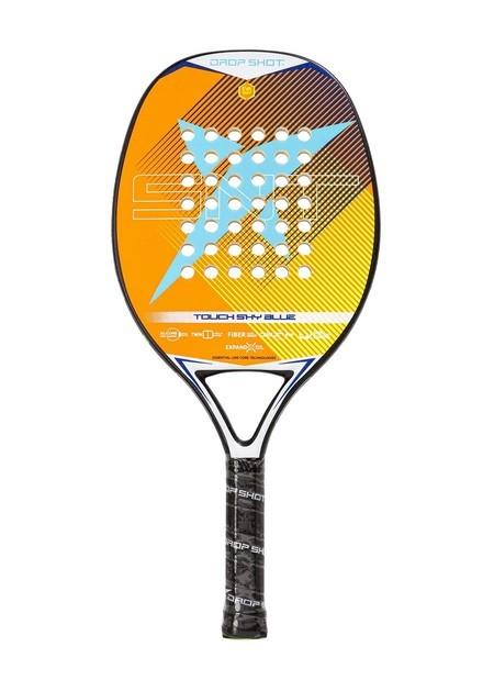 Raquete de Beach Tennis DROP SHOT Touch SKY Blue  - PROTENISTA