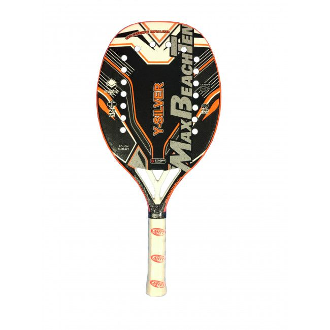 Raquete de Beach Tennis MBT - Silver 2020