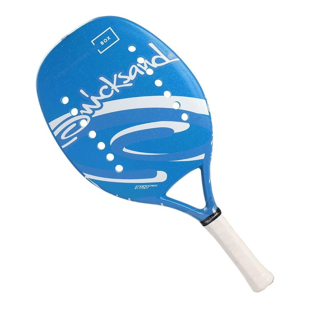 Raquete de Beach Tennis Quicksand Basic Blue  - PROTENISTA