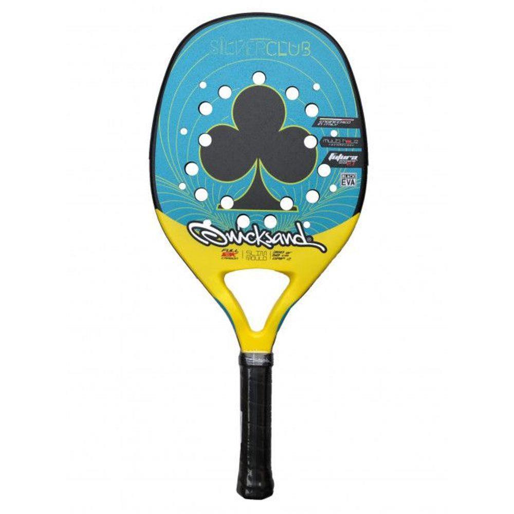 Raquete de Beach Tennis Quicksand Silver Club 2020