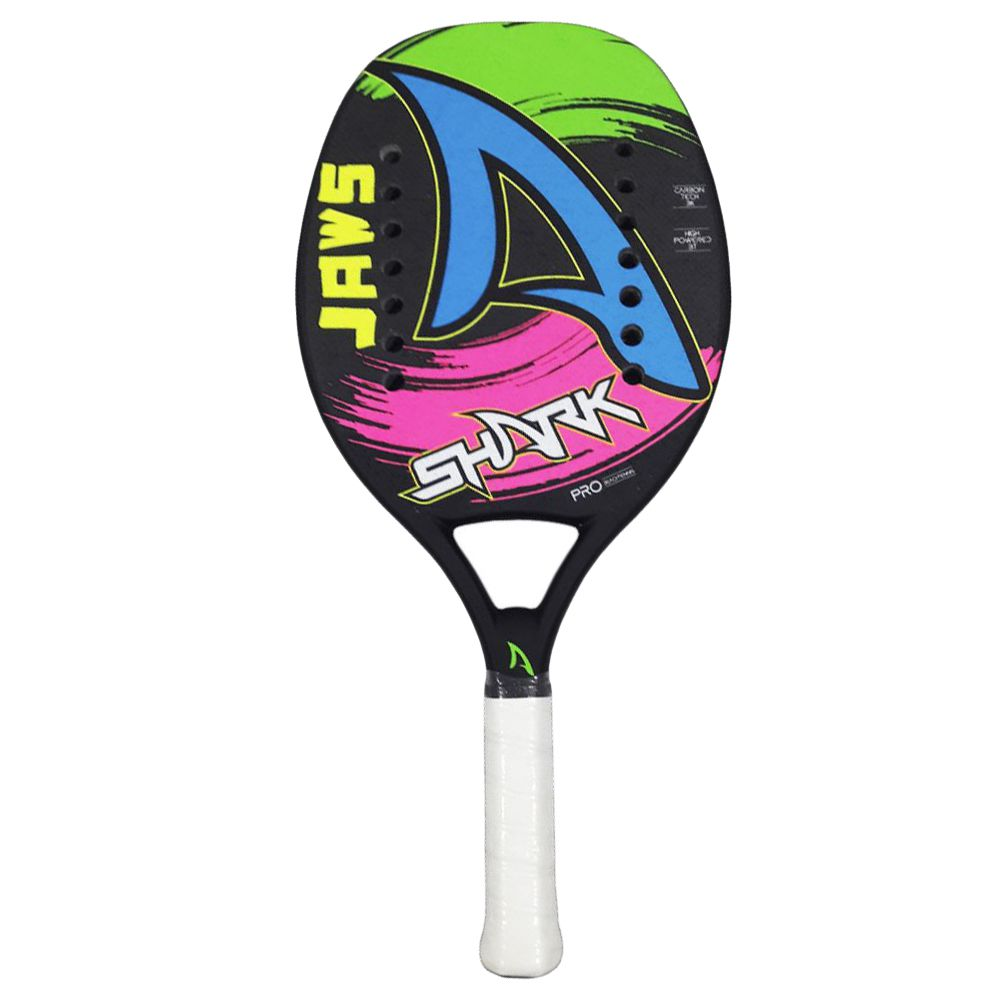 RAQUETE DE BEACH TENNIS SHARK JAWS 2020
