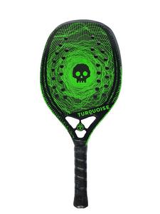 Raquete de Beach Tennis Turquoise Black Death Green - 2020