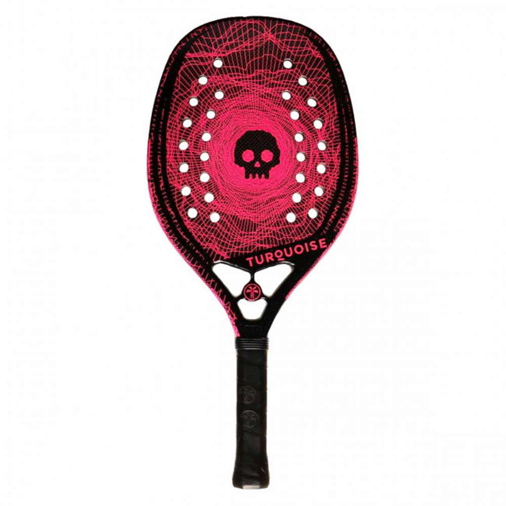 Raquete de Beach Tennis Turquoise Black Death Pink - 2020