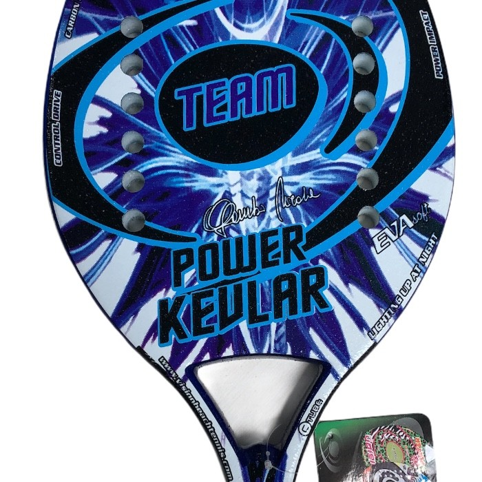 Raquete de Beach Tennis Vision Power Kevlar Team - 2020  - PROTENISTA