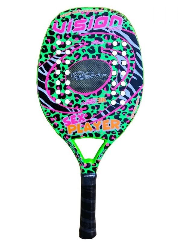 Raquete de Beach Tennis Vision Sex Player - 2020  - PROTENISTA