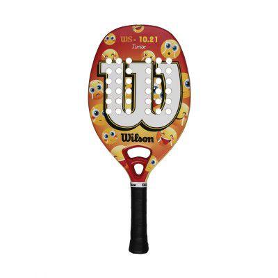 Raquete de Beach Tennis Wilson WS 10.21 Infantil Emoji