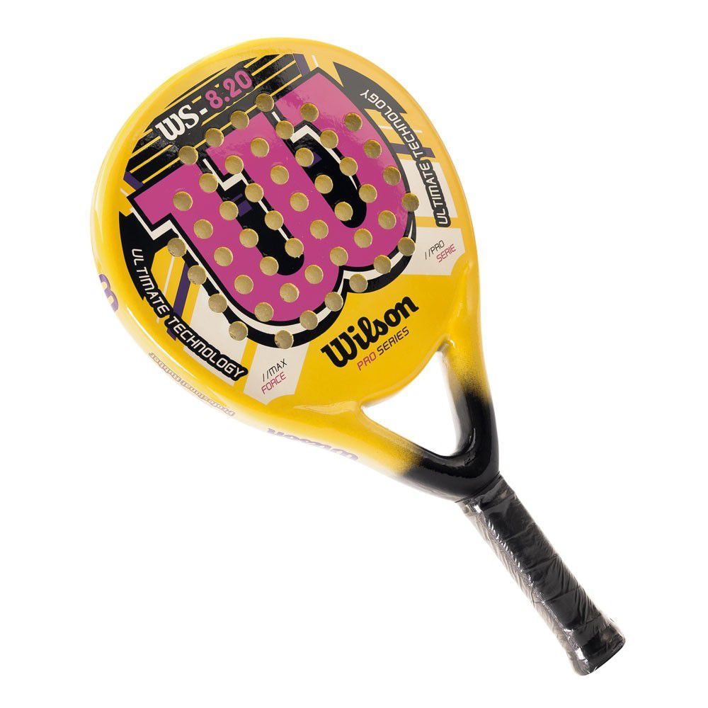 Raquete de Padel Wilson WS 8.20 Amarela e Rosa