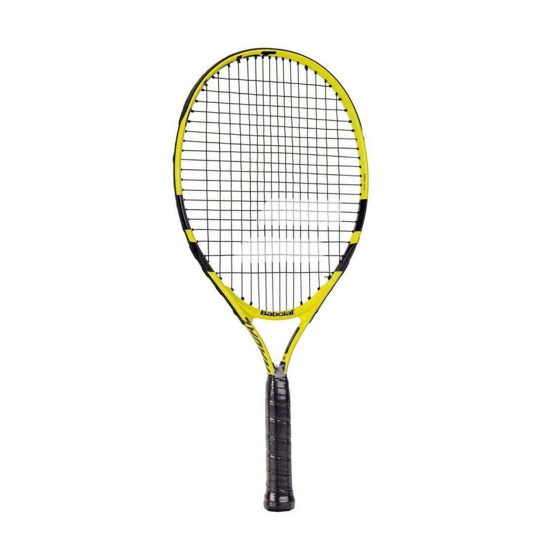 Raquete de Tênis Babolat Nadal Junior 21 Amarela e Preta  - PROTENISTA