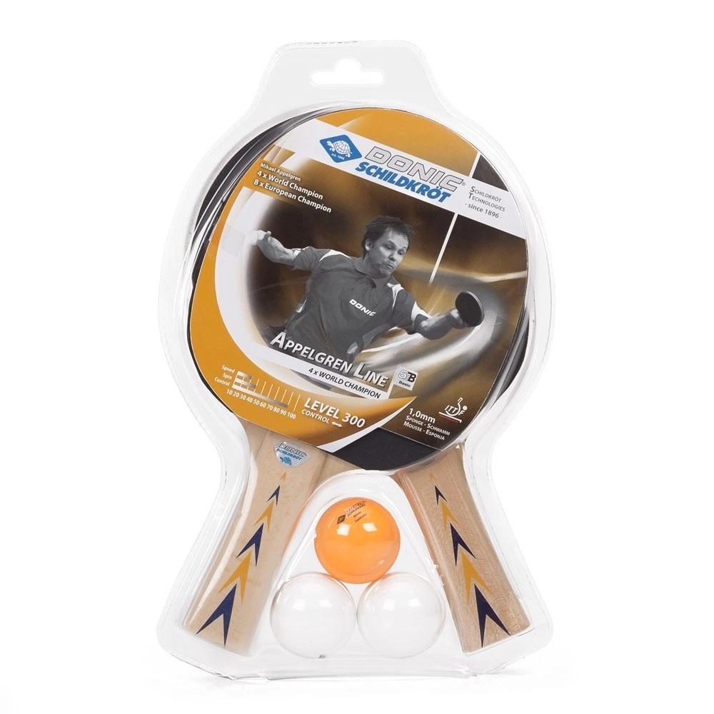 Raquete de Tênis de Mesa Donic Appelgren 300  - PROTENISTA