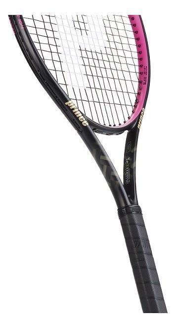 Raquete de Tênis Prince TexTreme 2 Beast 104 - Pink - 260g  - PROTENISTA