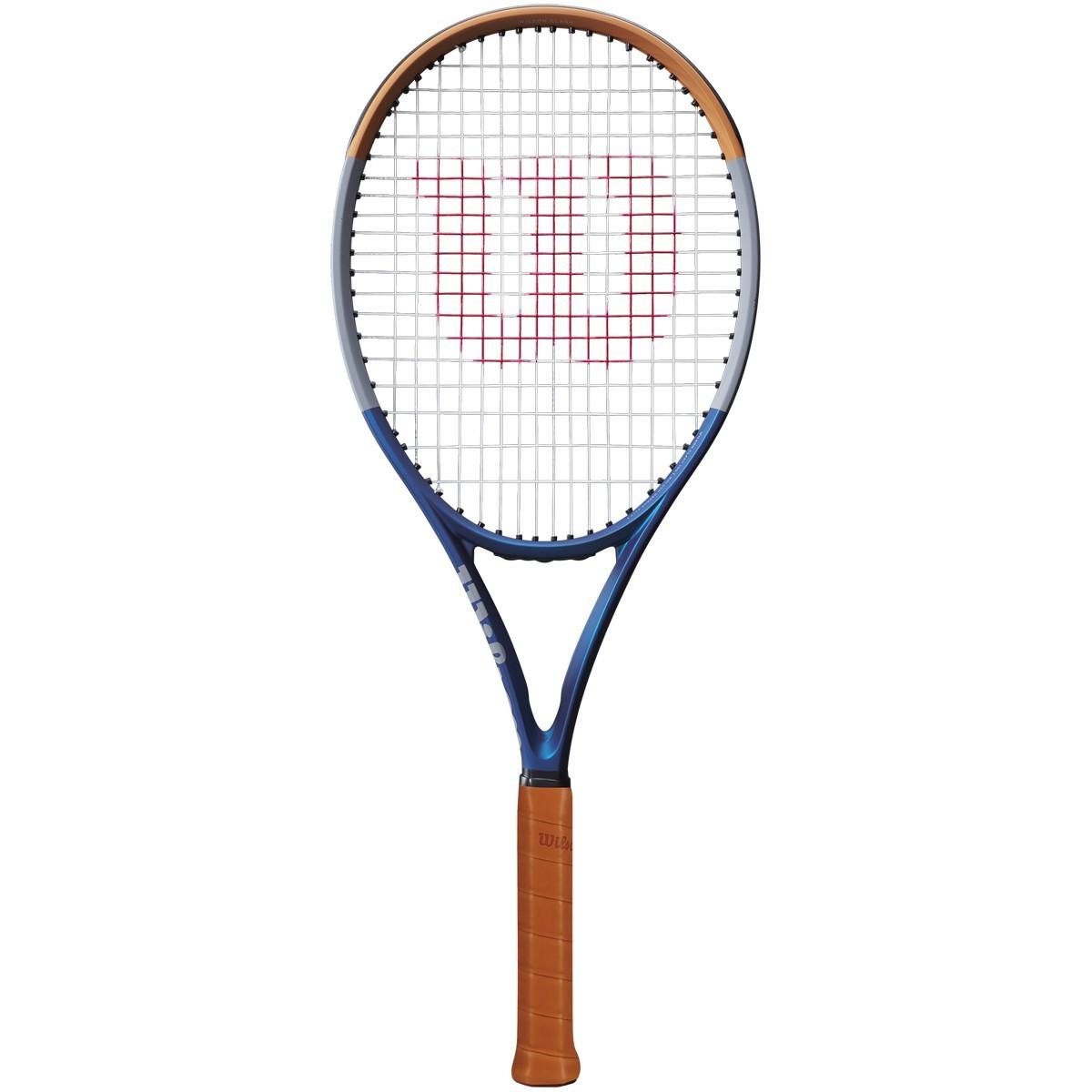 Raquete de Tênis Wilson Clash 100 Roland Garros - 295g - Edição Limitada  - PROTENISTA