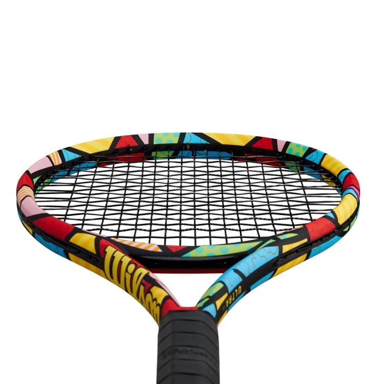 Raquete de Tênis Wilson Ultra 100 V3 - Romero Britto  - PROTENISTA
