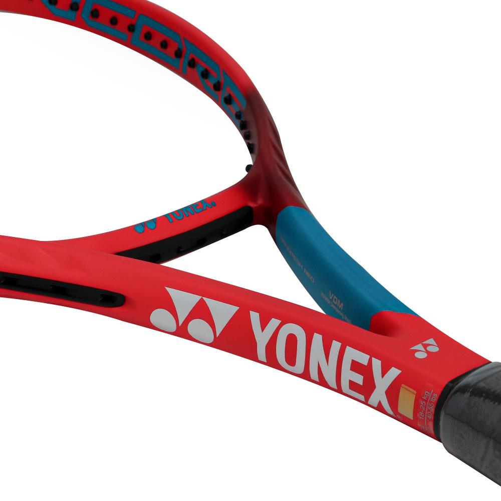 Raquete de Tênis Yonex Vcore Feel 100 250g - Vermelha e Azul  - PROTENISTA