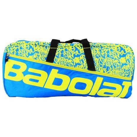 Raqueteira Babolat Duffle M Azul e Amarelo X6  - PROTENISTA