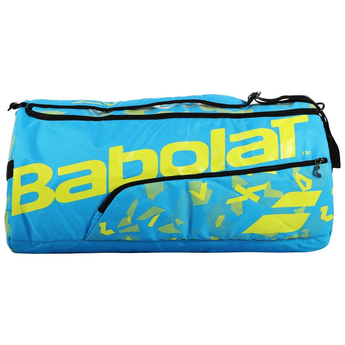 Raqueteira Babolat Duffle XL 12R Azul e Amarelo  - PROTENISTA