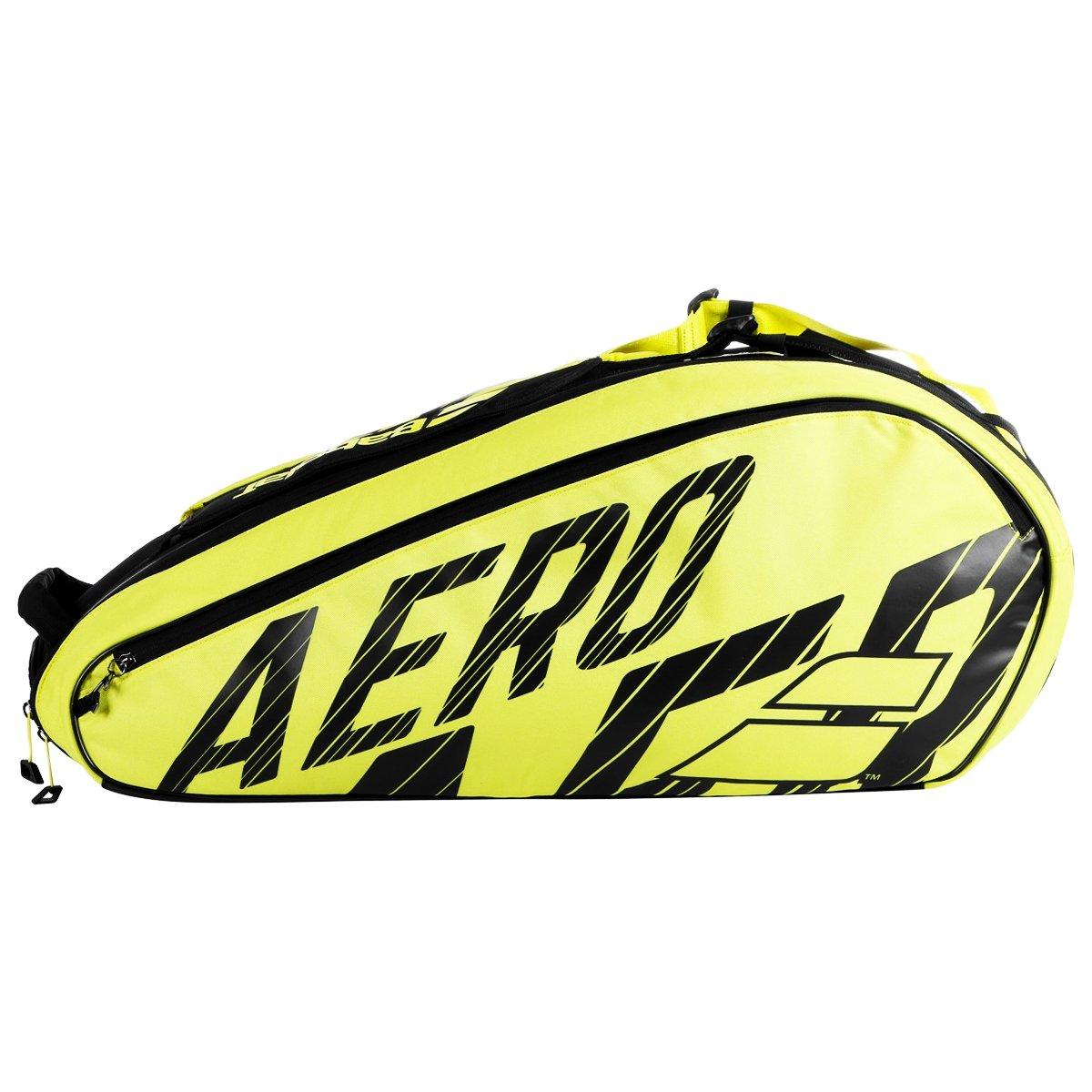 Raqueteira Babolat Pure Aero 6R Térmica Preto e Amarela - 2021  - PROTENISTA