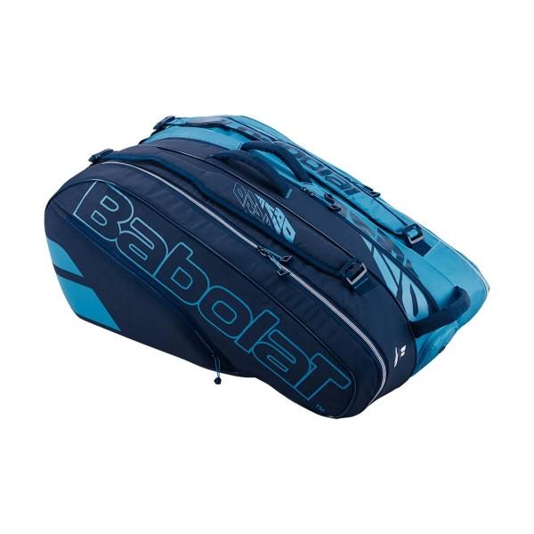 Raqueteira Babolat Racket Holder X12 - Azul  - PROTENISTA