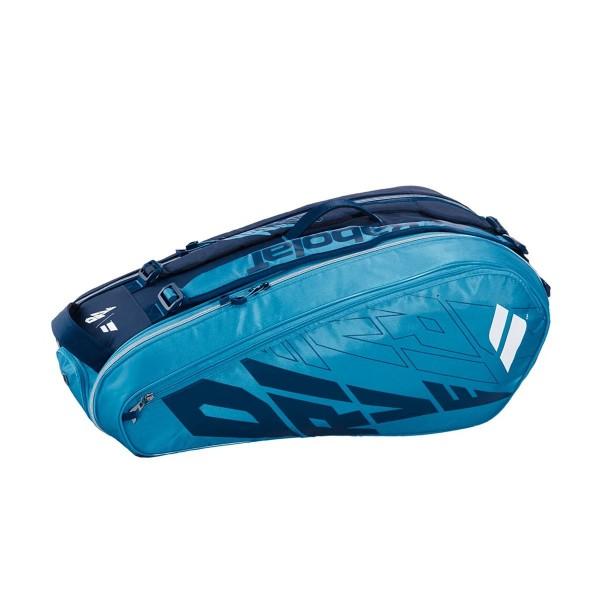 Raqueteira Babolat Racket Holder X6 - Azul  - PROTENISTA