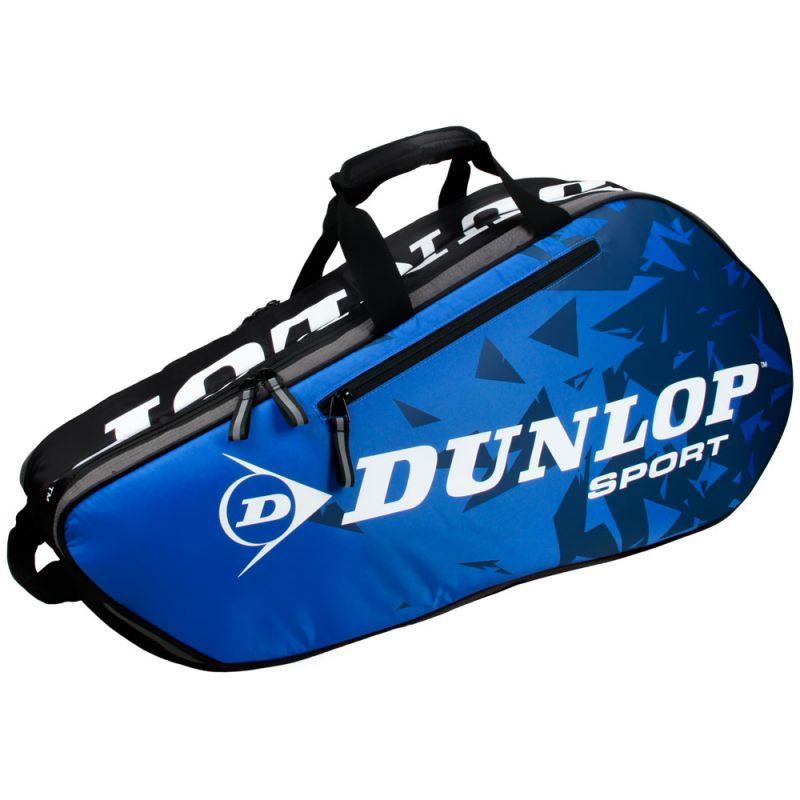 Raqueteira Dunlop Biomimetic Tour 6R - Azul e Preta  - PROTENISTA
