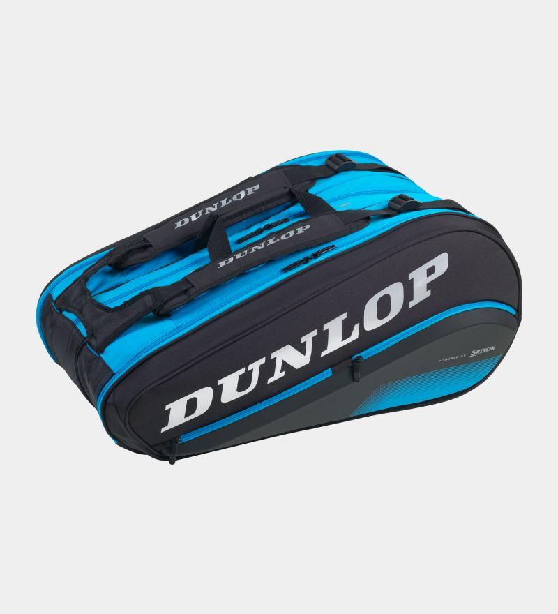 Raqueteira Dunlop Thermo Fx Performance 12 - Preta E Azul  - PROTENISTA