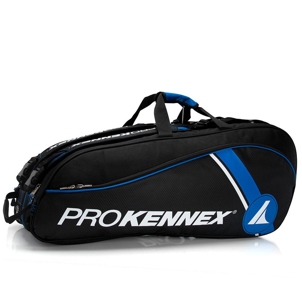 Raqueteira Prokennex Dupla Preta e Azul  - PROTENISTA