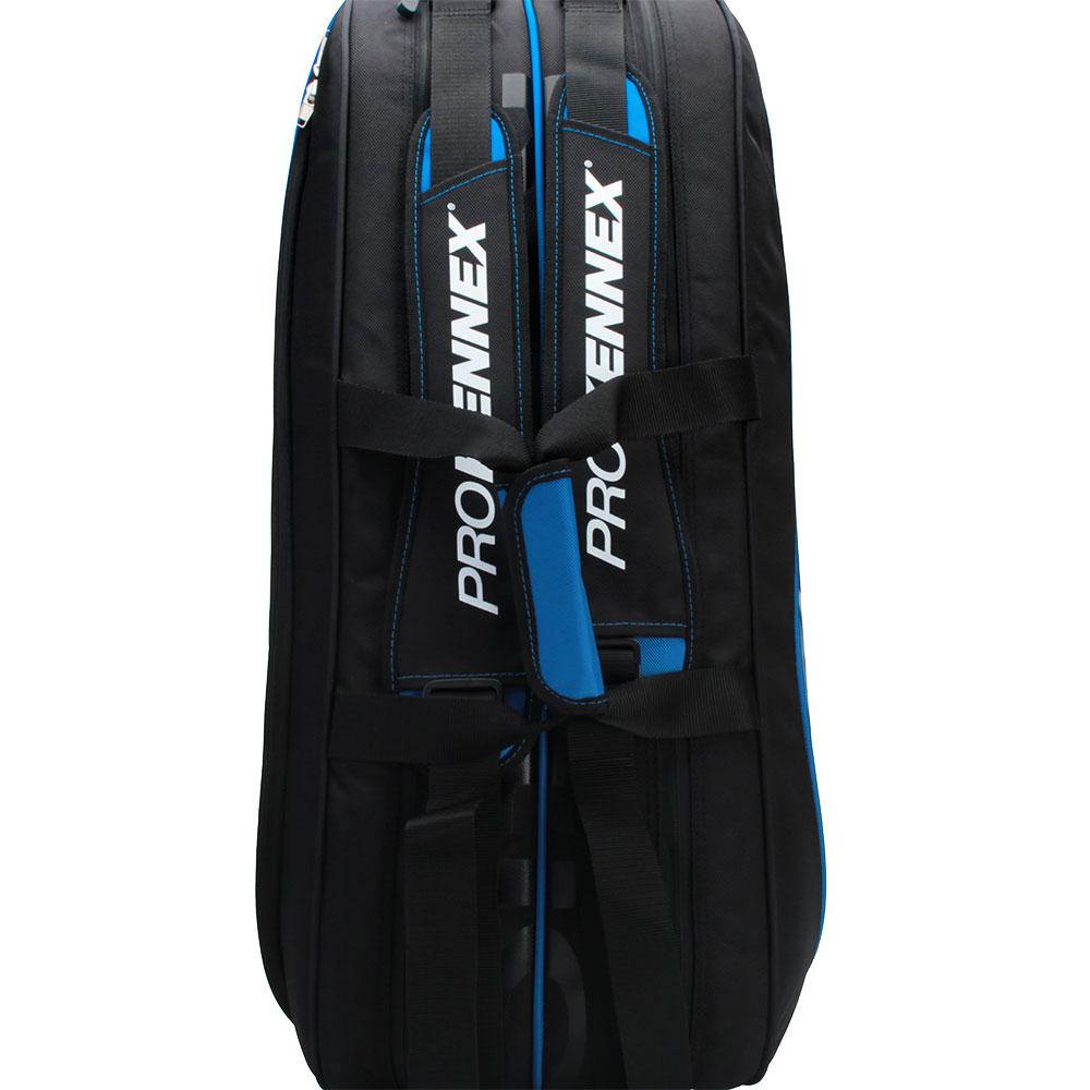Raqueteira Prokennex X6 2021 Preta e Azul  - PROTENISTA