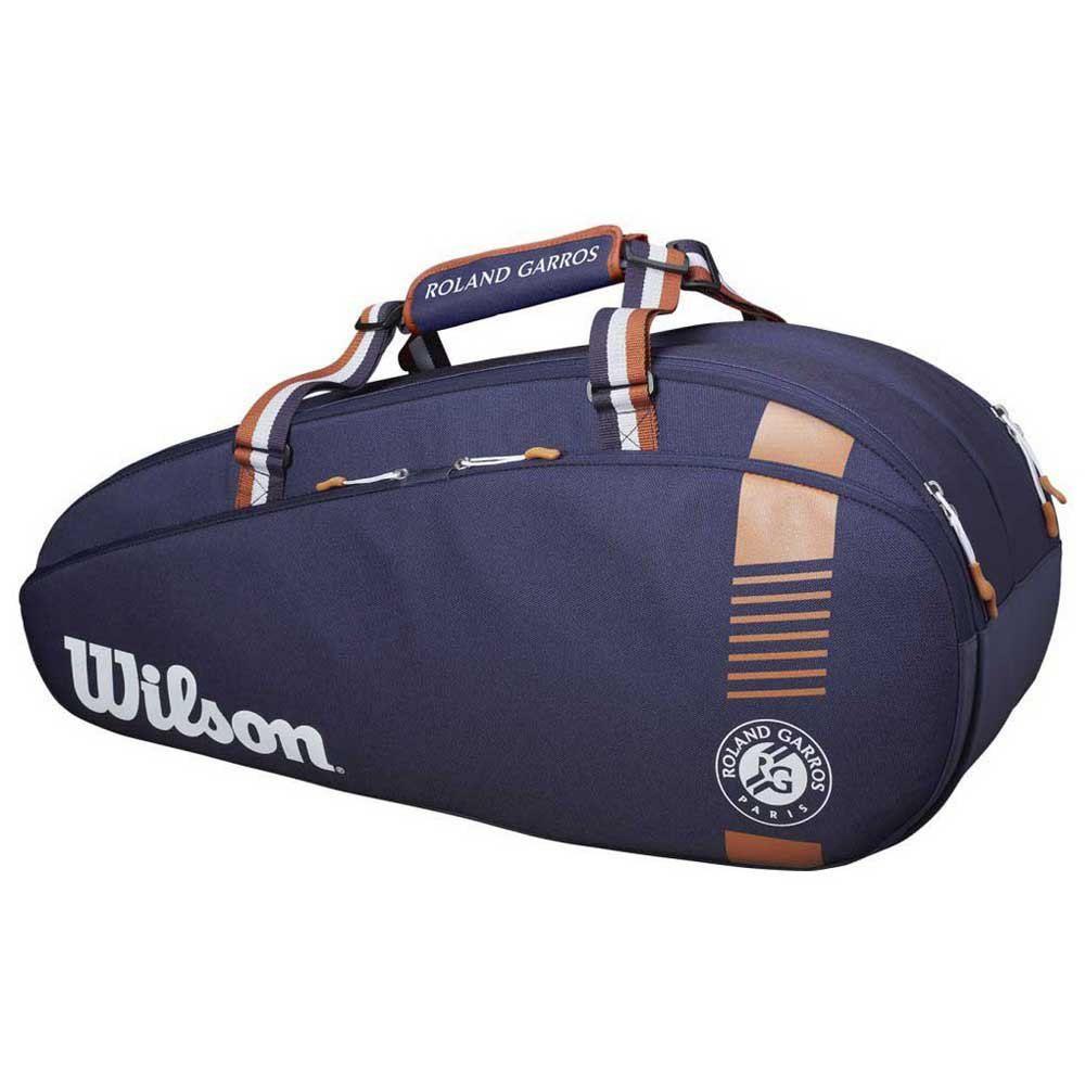 Raqueteira Roland Garros - Azul - 3 Pack - Coleção Team