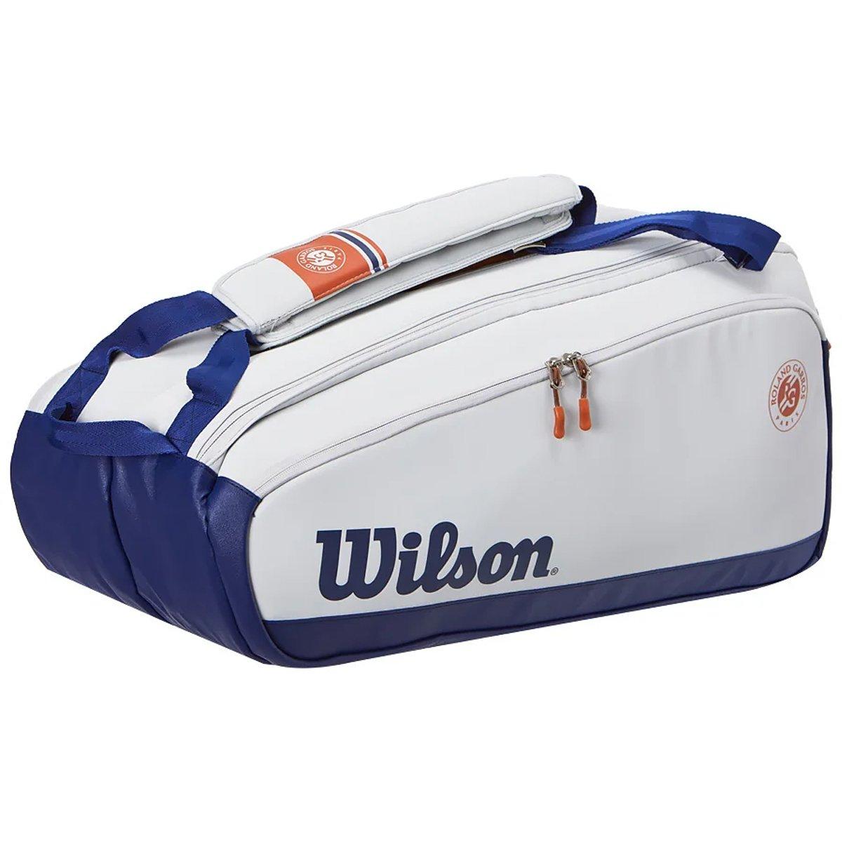 Raqueteira Wilson Roland Garros Premium - 9R  - PROTENISTA