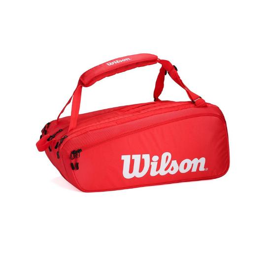 Raqueteira Wilson Super Tour 15Pk Vermelha  - PROTENISTA