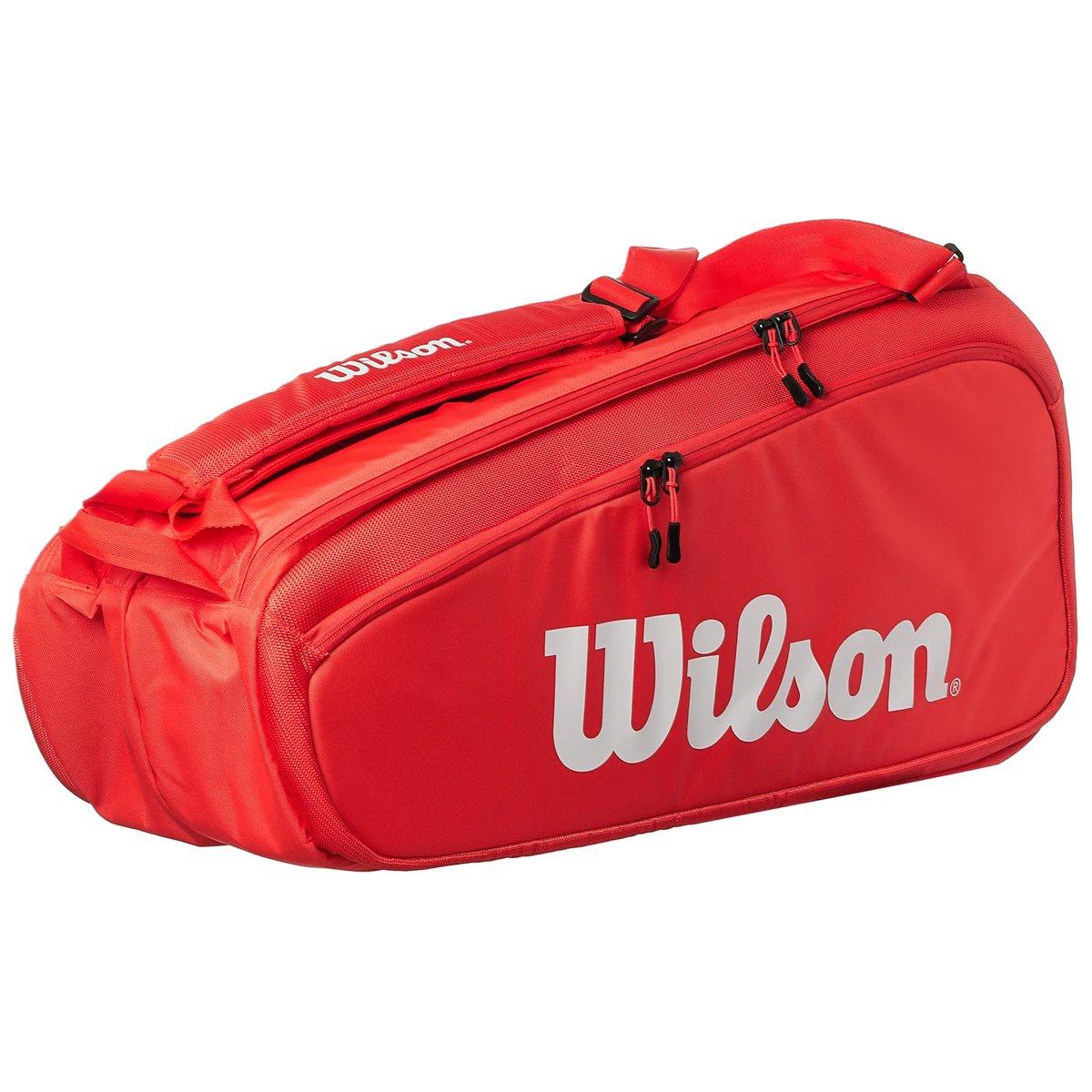 Raqueteira Wilson Super Tour 9Pk Vermelha  - PROTENISTA