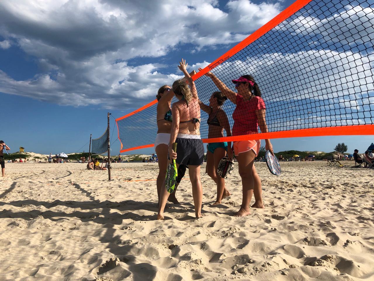 Rede Oficial Beach Tennis ProTenista - 4 Lados - Laranja   - PROTENISTA