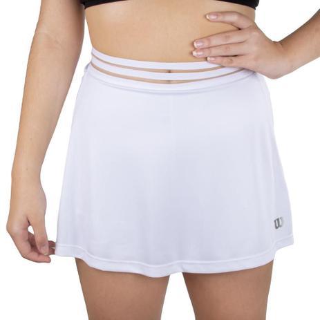 Saia Shorts Wilson Performance 3 Branca - Branco  - PROTENISTA
